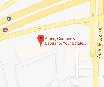 map for Amen, Gantner & Capriano Your Estate Matters office